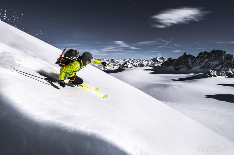 Autumn Ski Mountaineering – Aiguille du Tour, Chamonix