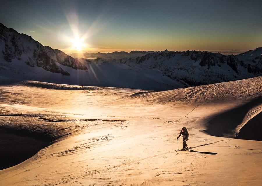 Alpine Conditions – Early season skiing