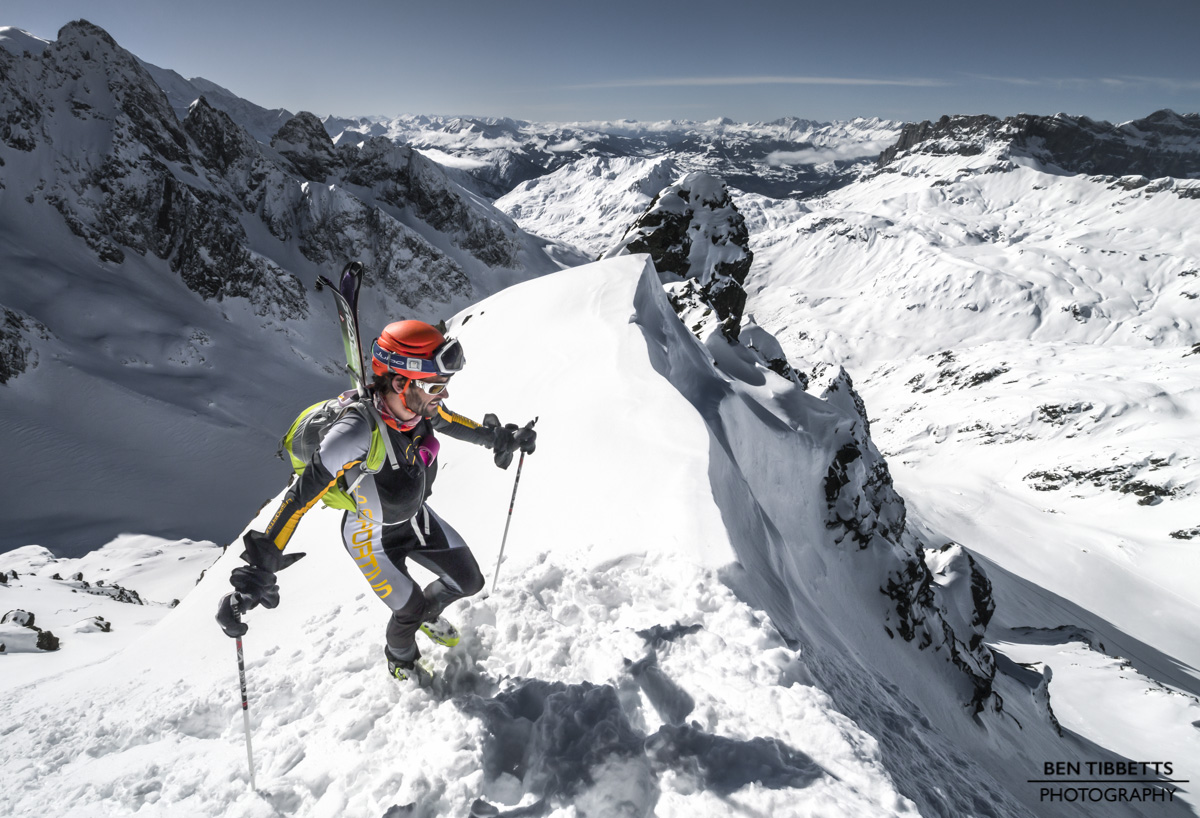 Alpine Conditions – Ski Mountaineering Feb '14