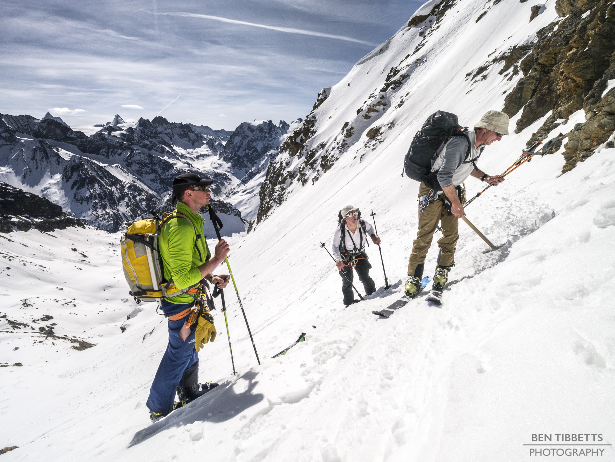 BMG ski touring training