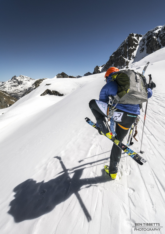 P1110990rosablanche misha skis off