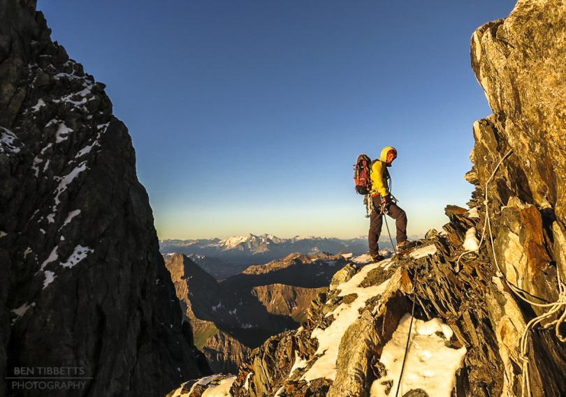 Mont Blanc via the Peuterey Integrale