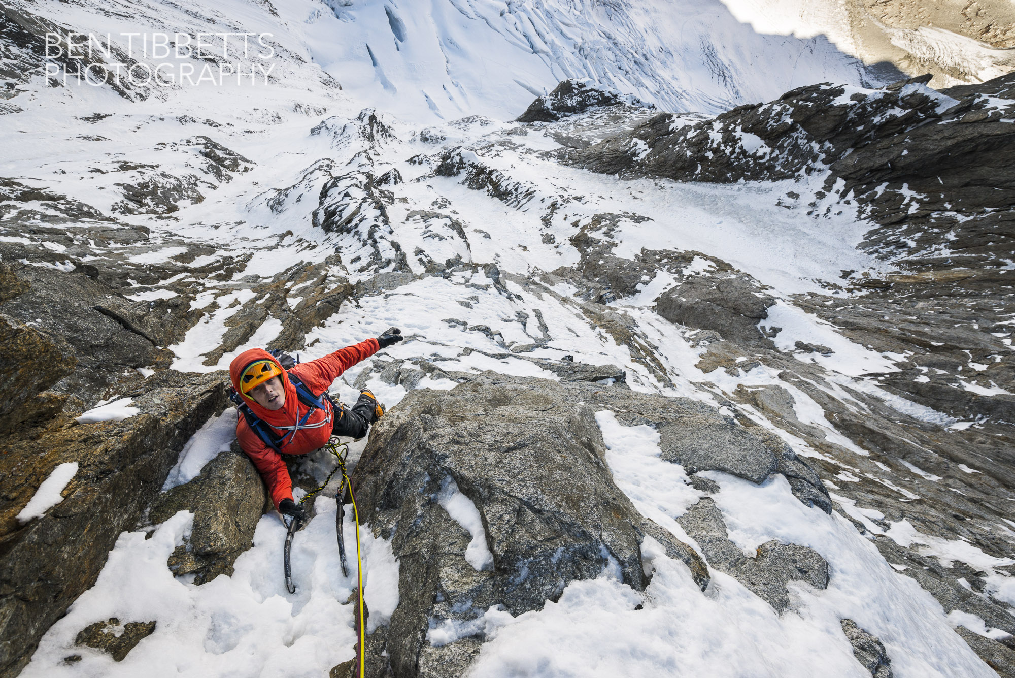 Alpine Conditions – Polish Route / Michto, Grandes Jorasses