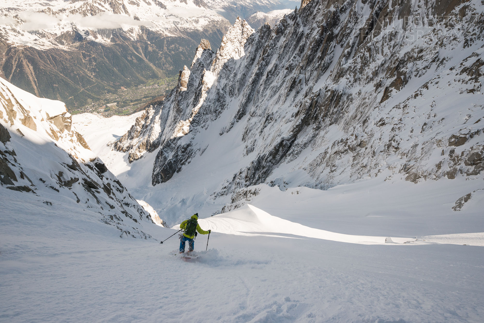 Col Du Plan – North Couloir