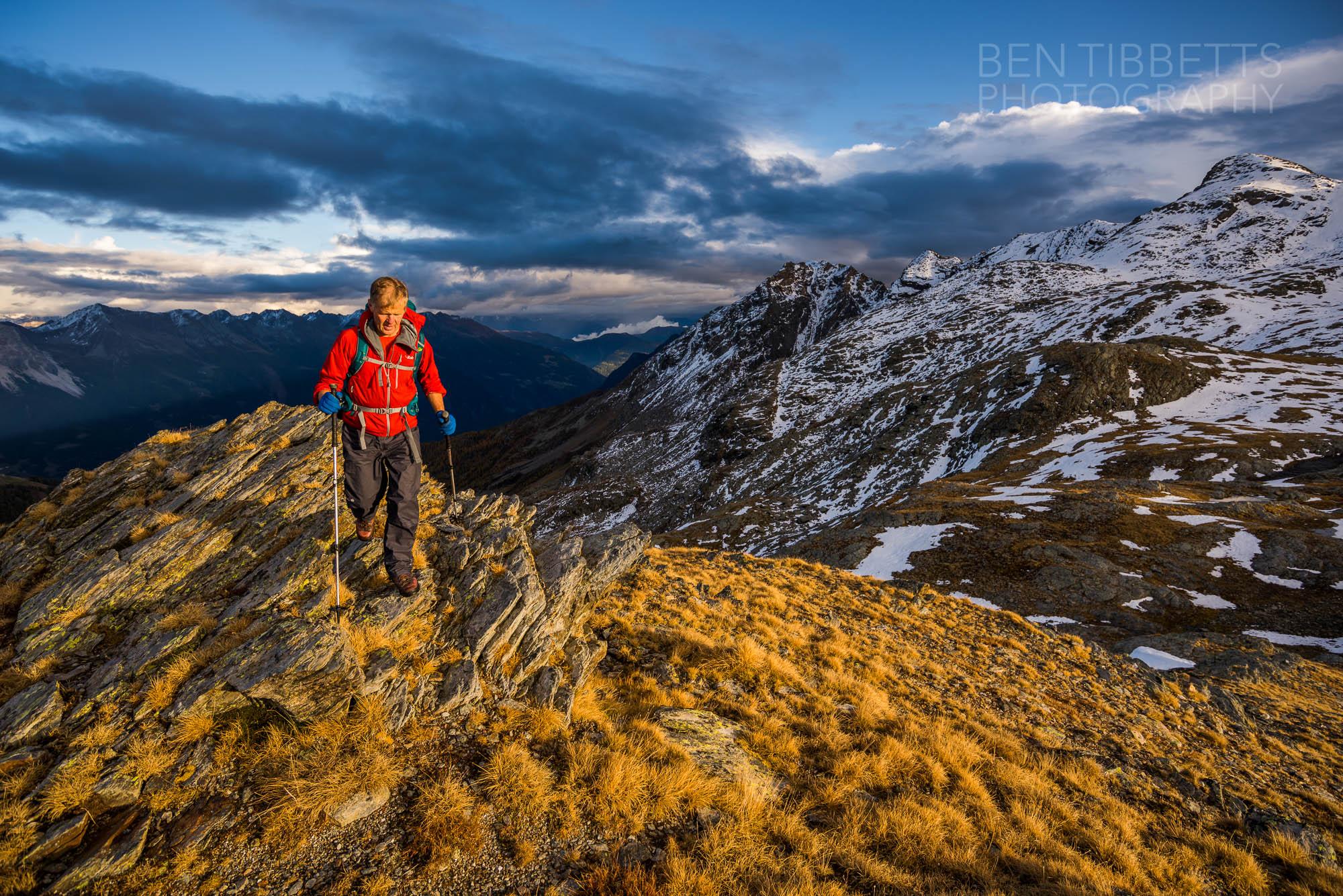 Autumn Hiking – Bernina Alps
